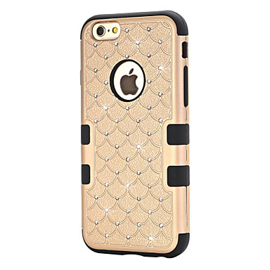 Case Kompatibilitás iPhone 6s Plus iPhone 6 Plus iPhone 6s iPhone 6 Apple iPhone 6 iPhone 6 Plus Víz / Dirt / ütésálló Strassz Betekintő