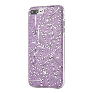 Mert Ultra-vékeny Case Hátlap Case Csillámpor Puha TPU Apple iPhone 7 Plus / iPhone 7 / iPhone 6s Plus/6 Plus / iPhone 6s/6
