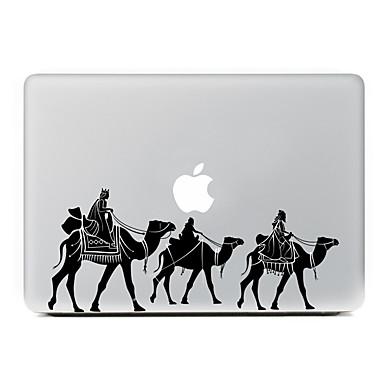 1 szt. Naklejka na obudowę na Odporne na zadrapania Zabawa z logiem Apple Wzorki PVC MacBook Pro 15'' with Retina MacBook Pro 15''