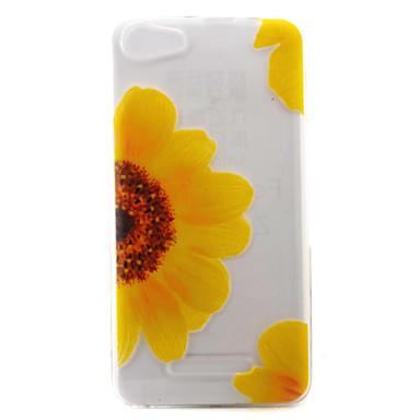 wiko lenny3 lenny2 전화 케이스 커버 flower 패턴 tpu 소재에 대 한 wiko u 느낌 기분이 화창한 제리
