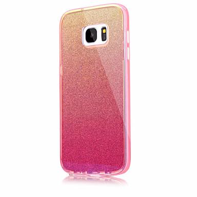 Kılıf Na Samsung Galaxy S7 edge S7 Odporne na wstrząsy Czarne etui Jendolity kolor Twarde Akrylowy na S7 edge S7 S6