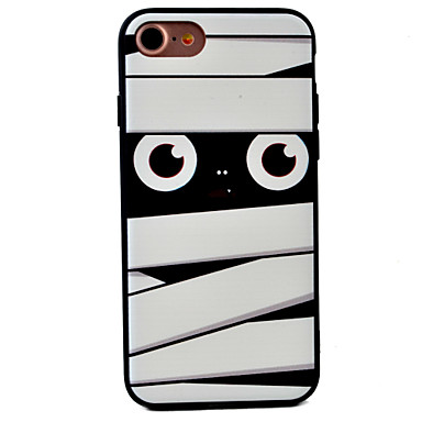 Mert Dombornyomott / Minta Case Hátlap Case Rajzfilmfigura Kemény Akril AppleiPhone 7 Plus / iPhone 7 / iPhone 6s Plus/6 Plus / iPhone