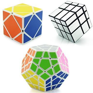 루빅스 큐브 shenshou 에일리언 메가밍크스 Skewb 거울 큐브 Skewb Cube 3*3*3 부드러운 속도 큐브 매직 큐브 퍼즐 큐브 전문가 수준 속도 ABS 광장 크리스마스 새해 어린이날 선물