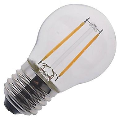 500-600 lm E26/E27 LED 글로브 전구 A50 2 LED가 COB 장식 따뜻한 화이트 차가운 화이트 AC 220-240V AC 85-265V