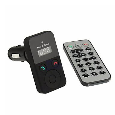 원격 제어 자동차 키트 핸즈프리 블루투스 무선 FM 송신기 USB SD transmetteur 블루투스 voiture mp3 파일 마이크