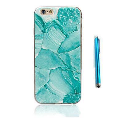 Kılıf Na Apple Etui iPhone 5 iPhone 6 iPhone 7 Wzór Czarne etui Marmur Miękkie TPU na iPhone 7 Plus iPhone 7 iPhone 6s Plus iPhone 6s