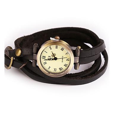 Vintage Watch Women Rome Digital Montre Femme Multilayer Bracelet Watch Leather Geneva Watch Women Quartz Wristwatch Strap Watch