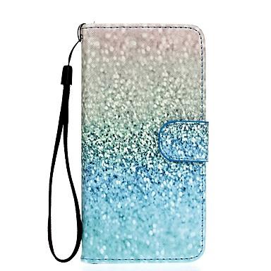 Case Kompatibilitás Samsung Galaxy S7 edge S7 Kártyatartó Pénztárca Állvánnyal Héjtok Színátmenet Kemény PU bőr mert S7 edge S7 S6 edge