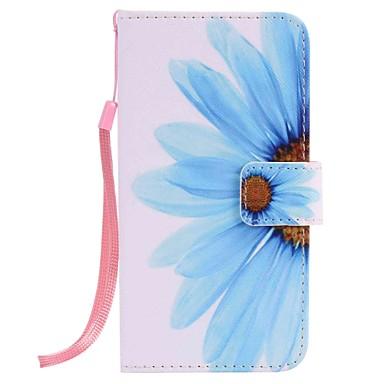 Case Kompatibilitás Samsung Galaxy J7 Prime J5 Prime Pénztárca Kártyatartó Állvánnyal Teljes védelem Virág Kemény Műbőr Bőr mert J7 Prime