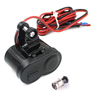 motocykl wodoodporny GPS 1.5a USB Ładowarka portu gniazda zapalniczki