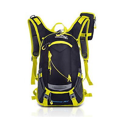 305f040ed0124 حقائب ظهر ركوب الدراجات الظهر حقيبة ظهر 15 L - مقاوم للماء متنفس مقاومة  الهزة في