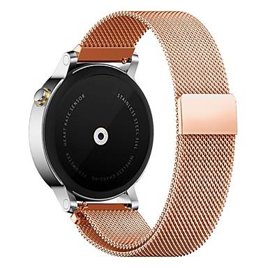 Недорогие Ремешки для часов Huawei-Ремешок для часов для Huawei Watch / Withings Activité / Withings Activité Steel Huawei Миланский ремешок Металл / Нержавеющая сталь Повязка на запястье