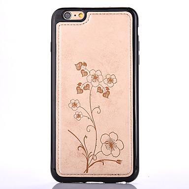 Na Wytłaczany wzór Kılıf Etui na tył Kılıf Kwiat Miękkie TPU na Apple iPhone 7 Plus / iPhone 7 / iPhone 6s Plus/6 Plus / iPhone 6s/6
