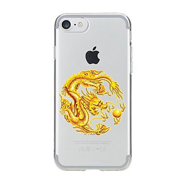 Için Şeffaf / Temalı Pouzdro Arka Kılıf Pouzdro Hayvan Yumuşak TPU için AppleiPhone 7 Plus / iPhone 7 / iPhone 6s Plus/6 Plus / iPhone