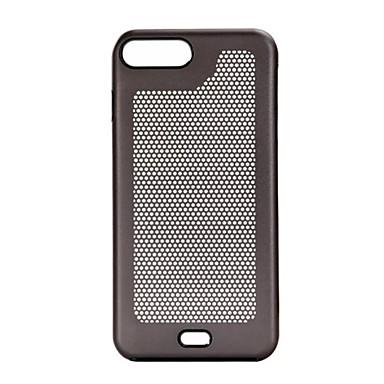 Uyumluluk iPhone 7 iPhone 7 Plus iPhone 6 Kılıflar Kapaklar Kaplama Arka Kılıf Pouzdro Tek Renk Sert Metal için Apple iPhone 7 Plus