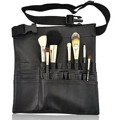 المحمولة ماكياج فرشاة 22pockets حقيبة حالة مئزر مع حامل حزام حزام التجميل تخزين فرشاة أداة مربع منظم الجمال الفنان