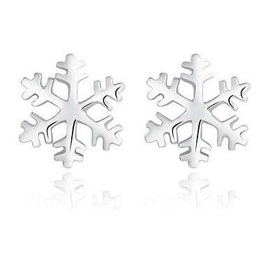 Kolczyki na sztyft Srebro standardowe Silver Biżuteria Na Ślub Impreza 1 para