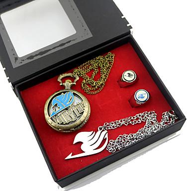 시계/손목시계 더 많은 악세서리 에서 영감을 받다 페어리 테일 루시 하트필리아 에니메이션 코스프레 악세서리 목걸이 시계/손목시계 반지 합금