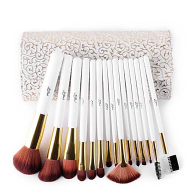 15pcs Makyaj fırçaları Profesyonel Fırça Setleri Sert Kıl Fırçası (Domuz Kılı) / Naylon Fırça / Sentetik Saç Profesyonel / sentetik / Hipoalerjenik