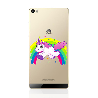 Etui Käyttötarkoitus Huawei P9 Huawei P9 Lite Huawei P8 Huawei Huawei P8 Lite Kuvio Takakuori Eläin Pehmeä TPU varten Huawei P9 Lite