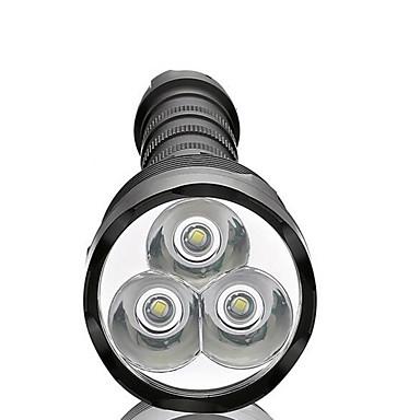 Φακοί LED LED 3800 lm 5 Τρόπος LED Αδιάβροχη Εξαιρετικά Ελαφρύ High Power Με ροοστάτη για Κατασκήνωση/Πεζοπορία/Εξερεύνηση Σπηλαίων