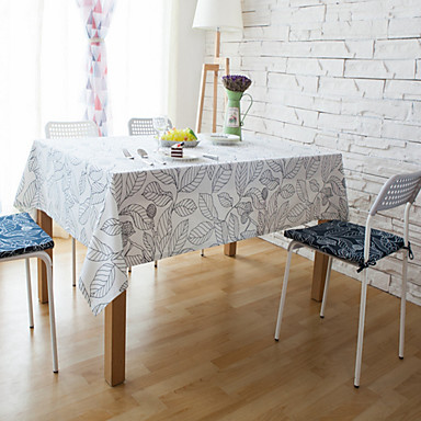 Suorakulma Raidoitettu Patterned Table Cloths materiaali Hotel ruokapöytä Taulukko Dceoration 1