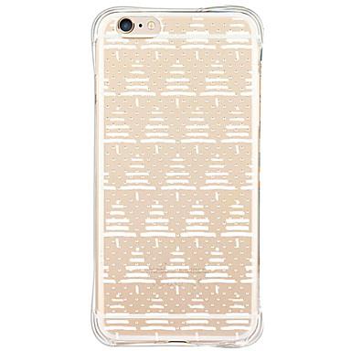 케이스 커버 Apple 용 iPhone 6 iPhone 6 Plus 아이폰5케이스 뒷면 커버 충격방지 패턴 크리스마스 소프트 TPU iPhone 6s Plus iPhone 6 Plus iPhone 6s iPhone 6 iPhone SE/5s