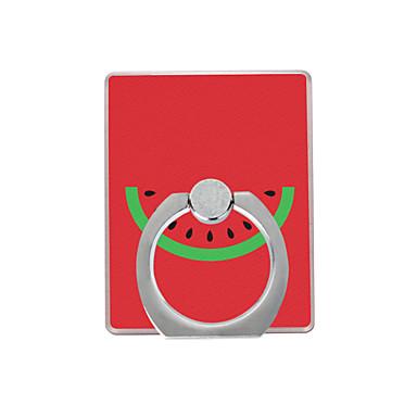 wzór arbuz plastikowy pierścień uchwyt / 360 obracanie dla telefonu komórkowego iphone 8 7 samsung galaxy s8 s7
