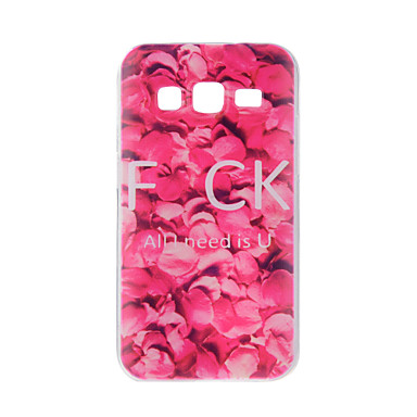 Pouzdro Uyumluluk Samsung Galaxy J7 (2016) J5 (2016) Temalı Arka Kılıf Çiçek Yumuşak TPU için On7(2016) On5(2016) J7 (2016) J7 J5 (2016)