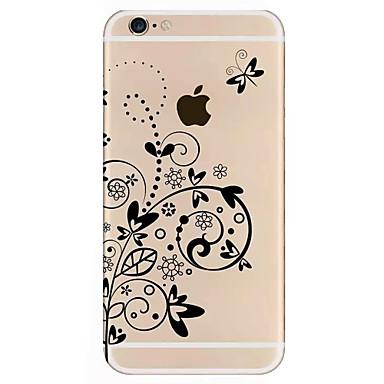 Varten iPhone 7 kotelo iPhone 7 Plus kotelo iPhone 6 kotelo kotelot kuoret Kuvio Takakuori Etui Kukka Kova Akryyli varten AppleiPhone 7