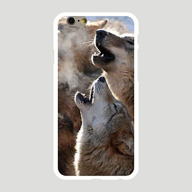 케이스 커버 Apple 용 iPhone 7 iPhone 7 Plus iPhone 6 뒷면 커버 패턴 동물 하드 PC iPhone 7 Plus iPhone 7 iPhone 6s Plus iPhone 6 Plus iPhone 6s iPhone 6 용