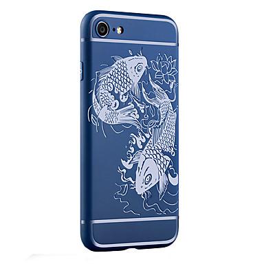 Για Ανθεκτική σε πτώσεις / Παγωμένη / Ανάγλυφη / Με σχέδια tok Πίσω Κάλυμμα tok Ζώο Μαλακή TPU για AppleiPhone 7 Plus / iPhone 7 / iPhone