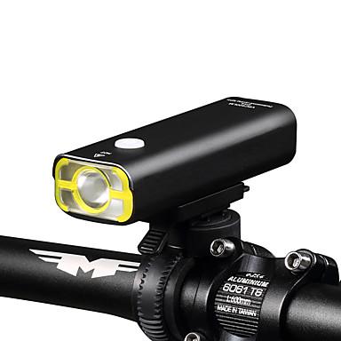 LED zseblámpák Kézi elemlámpák Kerékpár első lámpa LED XP-G2 Kerékpározás Újratölthető Vízálló Tompítható Könnyű 18650 400 Lumen