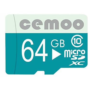 CEMOO 64 GB Micro SD kártya TF kártya Memóriakártya Class10