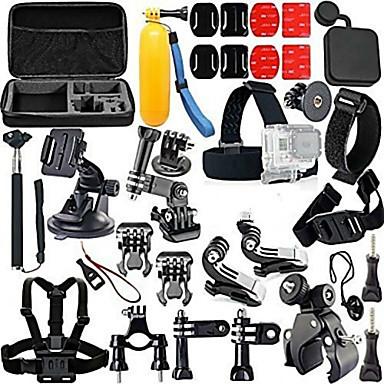 Toebehoren Kit Verstelbaar / Anti-schok / Waterbestendig Voor Actiecamera Gopro 5 / Xiaomi Camera / Gopro 4 Duiken / Surfen / Skiën EVA /