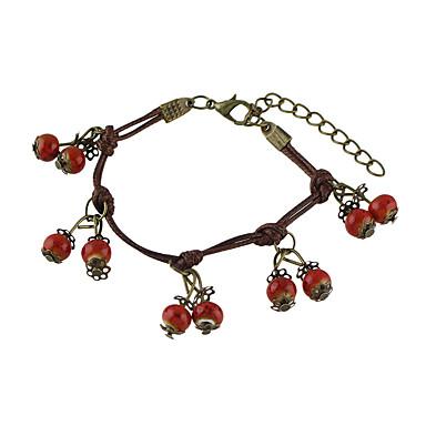 Naisten Amuletti-rannekorut Metalliseos Korut Vuosipäivä Onnea Lahja Päivittäin Kausaliteetti ulko-