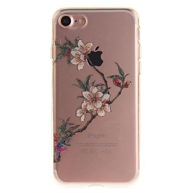 Için IMD Pouzdro Arka Kılıf Pouzdro Çiçek Yumuşak TPU için Apple iPhone 7 / iPhone 6s/6