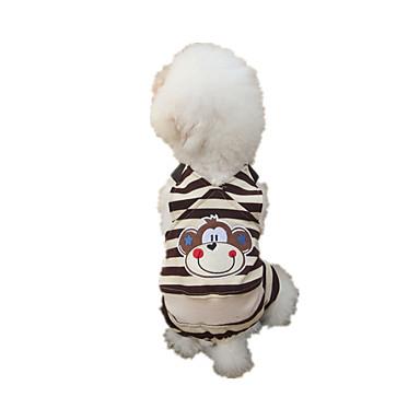 Köpek Tulumlar Köpek Giyimi Sıcak Tutma Karton Gökküşağı Kostüm Evcil hayvanlar için