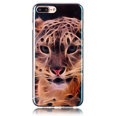 Için Temalı Pouzdro Arka Kılıf Pouzdro Hayvan Yumuşak TPU için Apple iPhone 7 Plus / iPhone 7 / iPhone 6s Plus/6 Plus / iPhone 6s/6