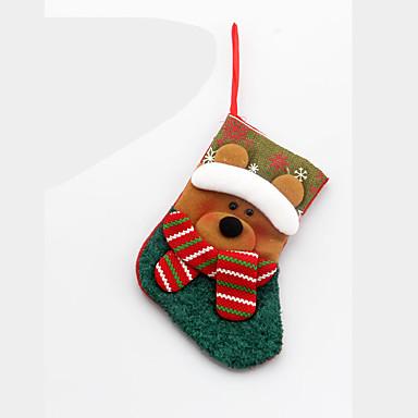 Noel masa dekorasyonu için 3pcs yılbaşı süsleri