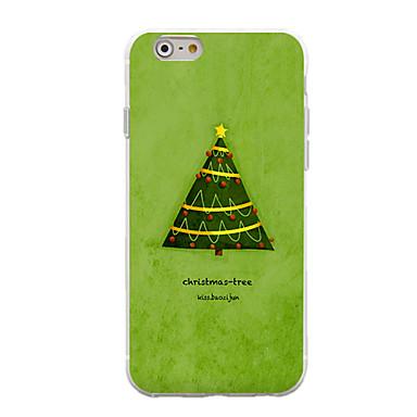 Για Με σχέδια tok Πίσω Κάλυμμα tok Χριστούγεννα Μαλακή TPU για AppleiPhone 7 Plus / iPhone 7 / iPhone 6s Plus/6 Plus / iPhone 6s/6 /
