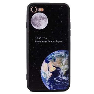 용 충격방지 / 패턴 케이스 뒷면 커버 케이스 풍경 하드 아크릴 Apple 아이폰 7 플러스 / 아이폰 (7) / iPhone 6s Plus/6 Plus / iPhone 6s/6