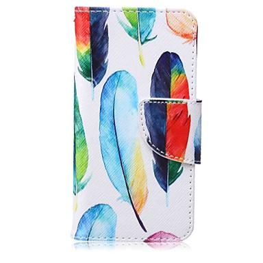 kolor piórko malowanie pu etui na telefon do apple itouch 5 6 ipod etui / pokrowce
