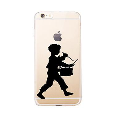Varten Kuvio Etui Takakuori Etui Piirros Pehmeä TPU varten AppleiPhone 7 Plus / iPhone 7 / iPhone 6s Plus/6 Plus / iPhone 6s/6 / iPhone