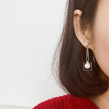 여성용 드랍 귀걸이 - 골드 / 실버 제품 파티 / 일상