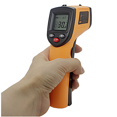 gm320 el kızılötesi termometre yüksek hassasiyetli kızılötesi sıcaklık tabancası