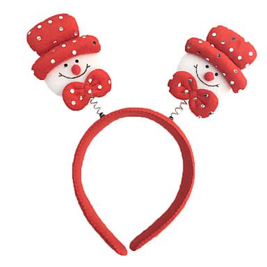 10pcs yeni parlak kafa yılbaşı tema yılbaşı kafa bandı sahne yılbaşı hediyeleri toka gümüş parlak toka toka (stil rastgele)