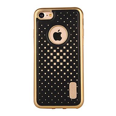 Varten Pinnoitus / Kuvio Etui Takakuori Etui Geometrinen printti Pehmeä Tekonahka varten AppleiPhone 7 Plus / iPhone 7 / iPhone 6s Plus/6
