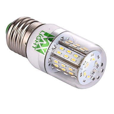 YWXLIGHT® 300lm E26 / E27 Żarówki LED kukurydza T 48 Koraliki LED SMD 3014 Dekoracyjna Ciepła biel Zimna biel