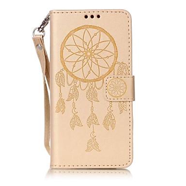 Na Etui Pokrowce Etui na karty Flip Wytłaczany wzór Futerał Kılıf Łapacz snów Twarde Sztuczna skóra na Sony Sony Xperia XA